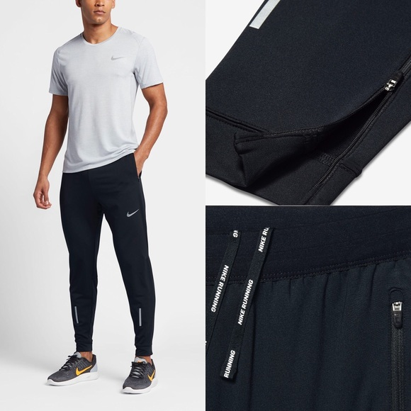 "MENS NIKE DRI FIT PHENOM 29"" RUNNING PANTS 